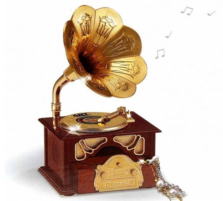 Hộp nhạc loa cổ điển