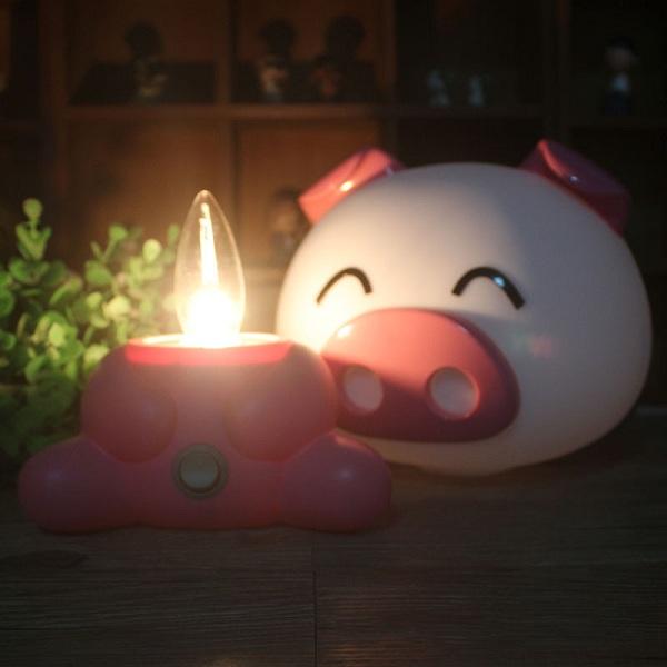 Đèn ngủ heo con
