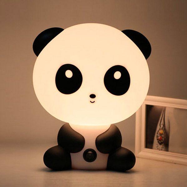 đèn ngủ hình gấu trúc