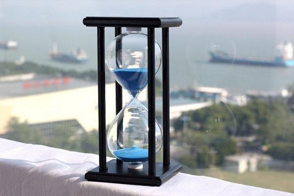 đồng hồ cát gỗ 60 phút