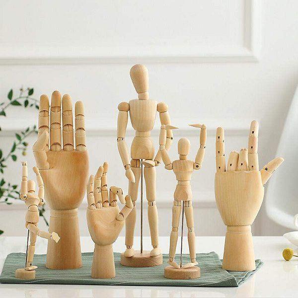 bàn tay gỗ
