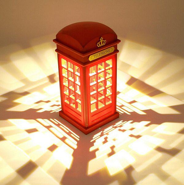 đèn ngủ bốt điện thoại