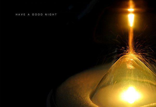 đèn ngủ đồng hồ cát