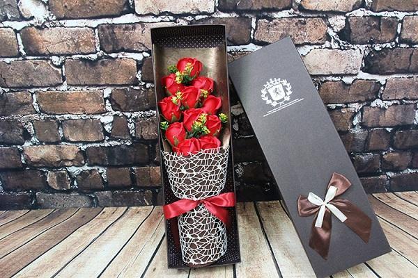 hoa hồng sáp 11 bông