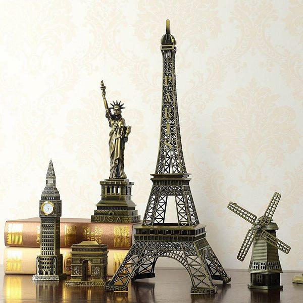 mô hình kiến trúc nổi tiếng thế giới
