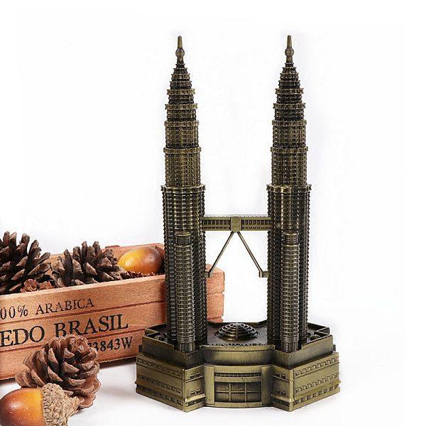mô hình tháp đôi petronas