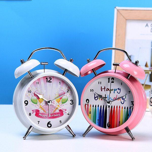đồng hồ báo thức Happy birthday