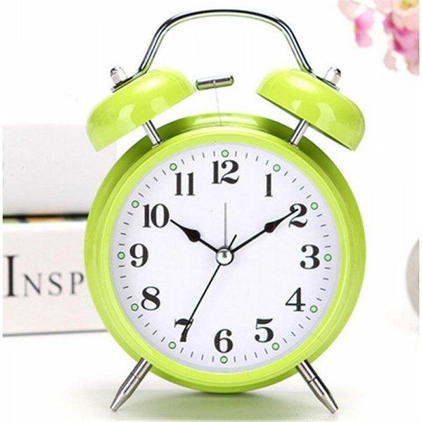 đồng hồ báo thức nhiều màu