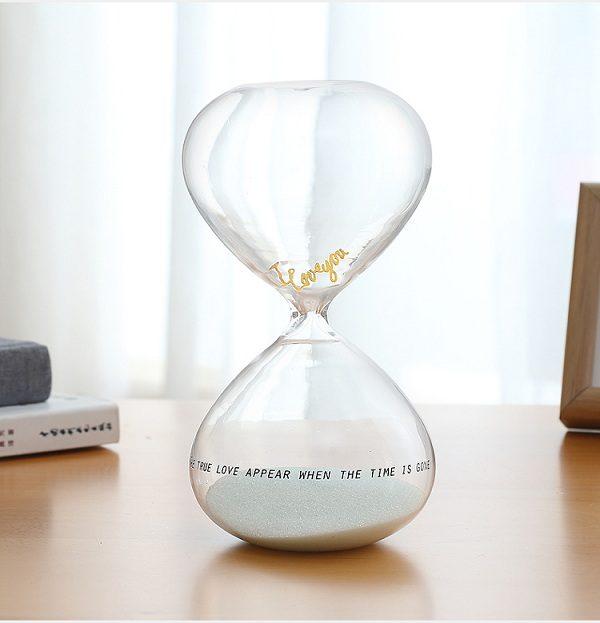 đồng hồ cát tỏ tình