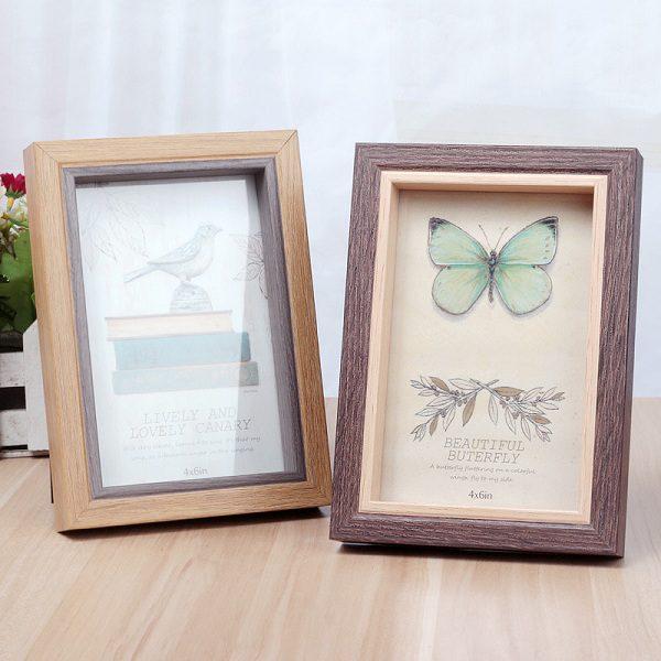 khung ảnh gỗ 2 lớp