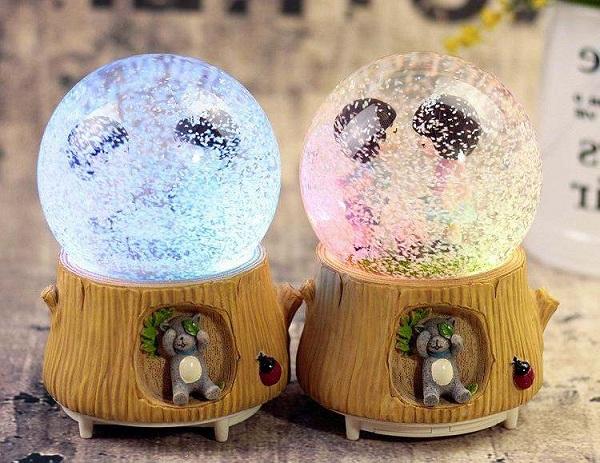 quả cầu tuyết cặp đôi