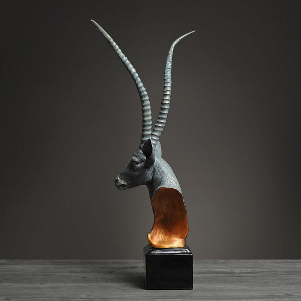 tượng đầu linh dương