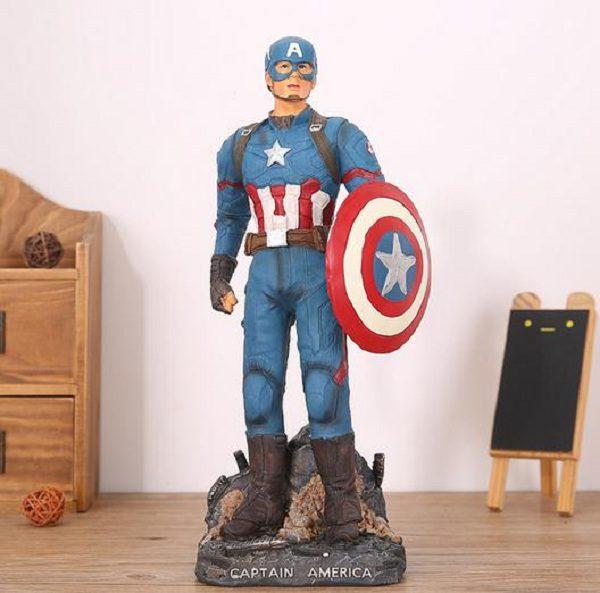 tượng đội trưởng mỹ caption america