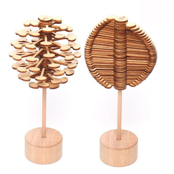 trò chơi gỗ xoay kẹo mút