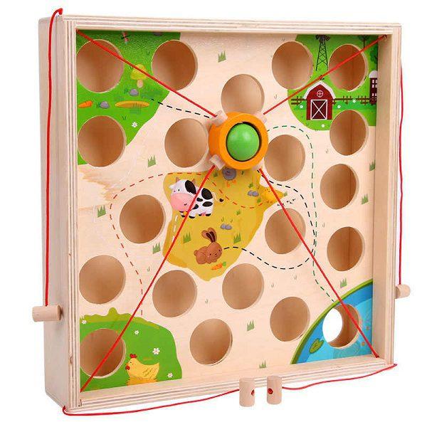 trò chơi dẫn bóng mê cung