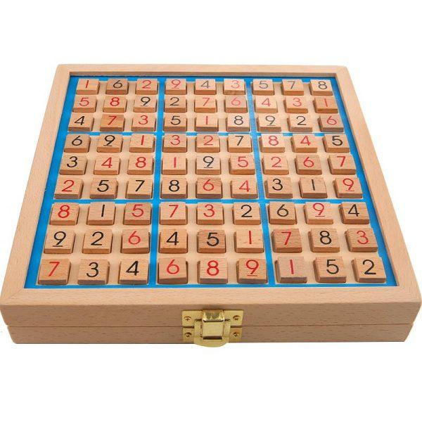 trò chơi sudoku gỗ