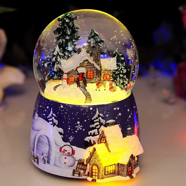 quả cầu tuyết giáng sinh