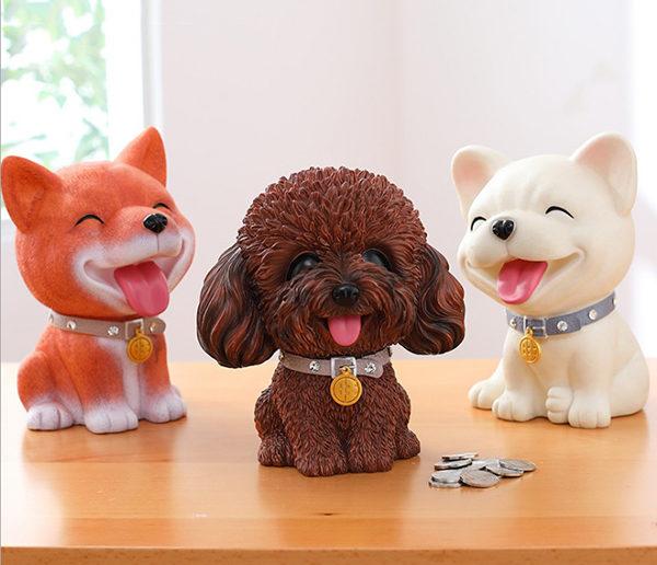 hộp tiết kiệm cún cưng