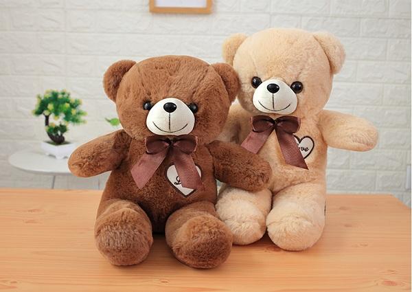 gấu bông nhiều màu