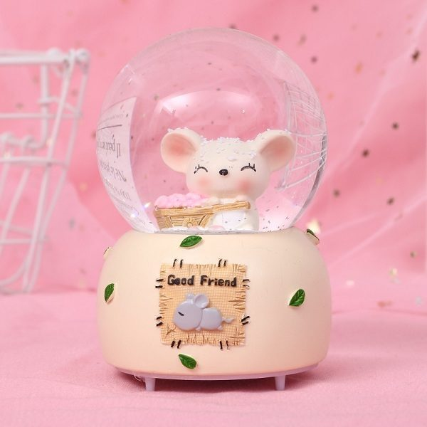 quả cầu tuyết chuột bạch