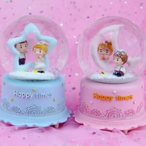 quả cầu tuyết happy time